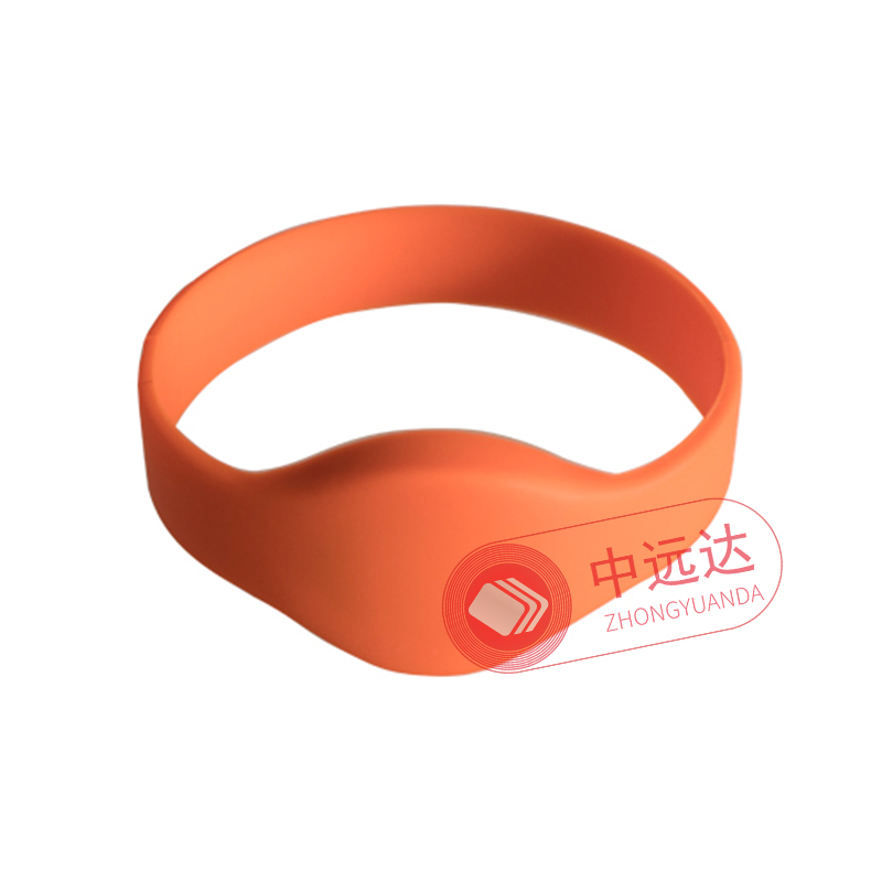 RFID waterproof silicone wristband tag
